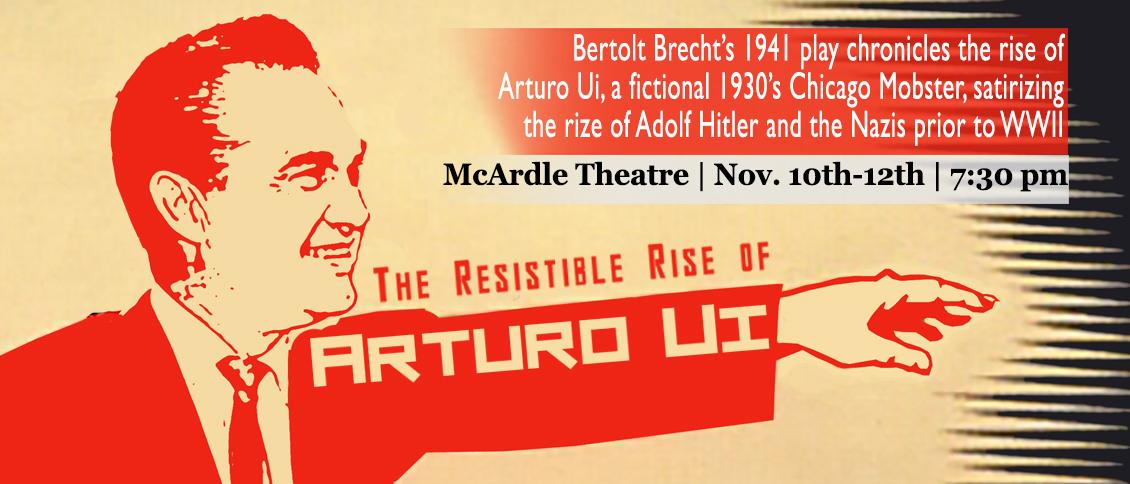 A recap of The Resistible Rise of Arturo Ui