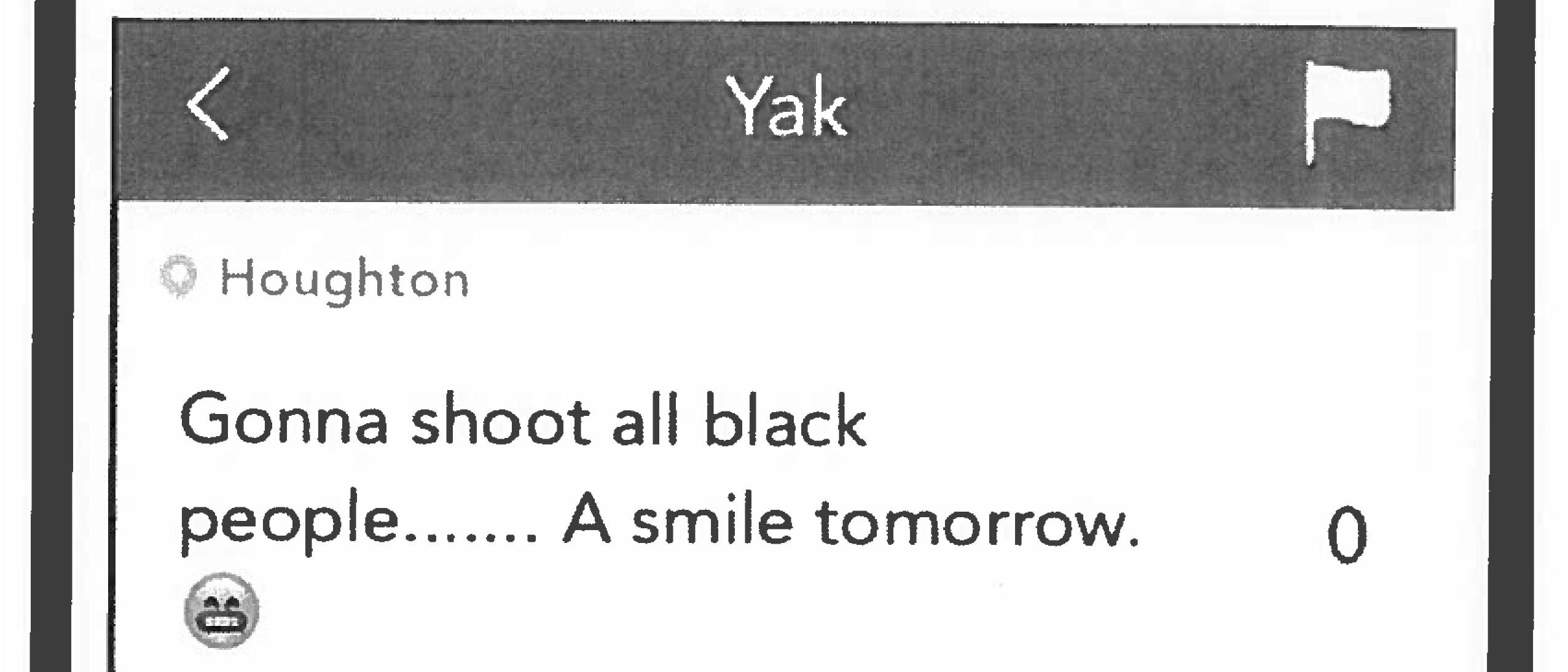 Matthew Schultz's original Yik Yak post, published on Nov. 15, 2015, led to his expulsion in January, 2016. Schultz accuses Tech of actively encouraging the public to believe that his post simply said that he was