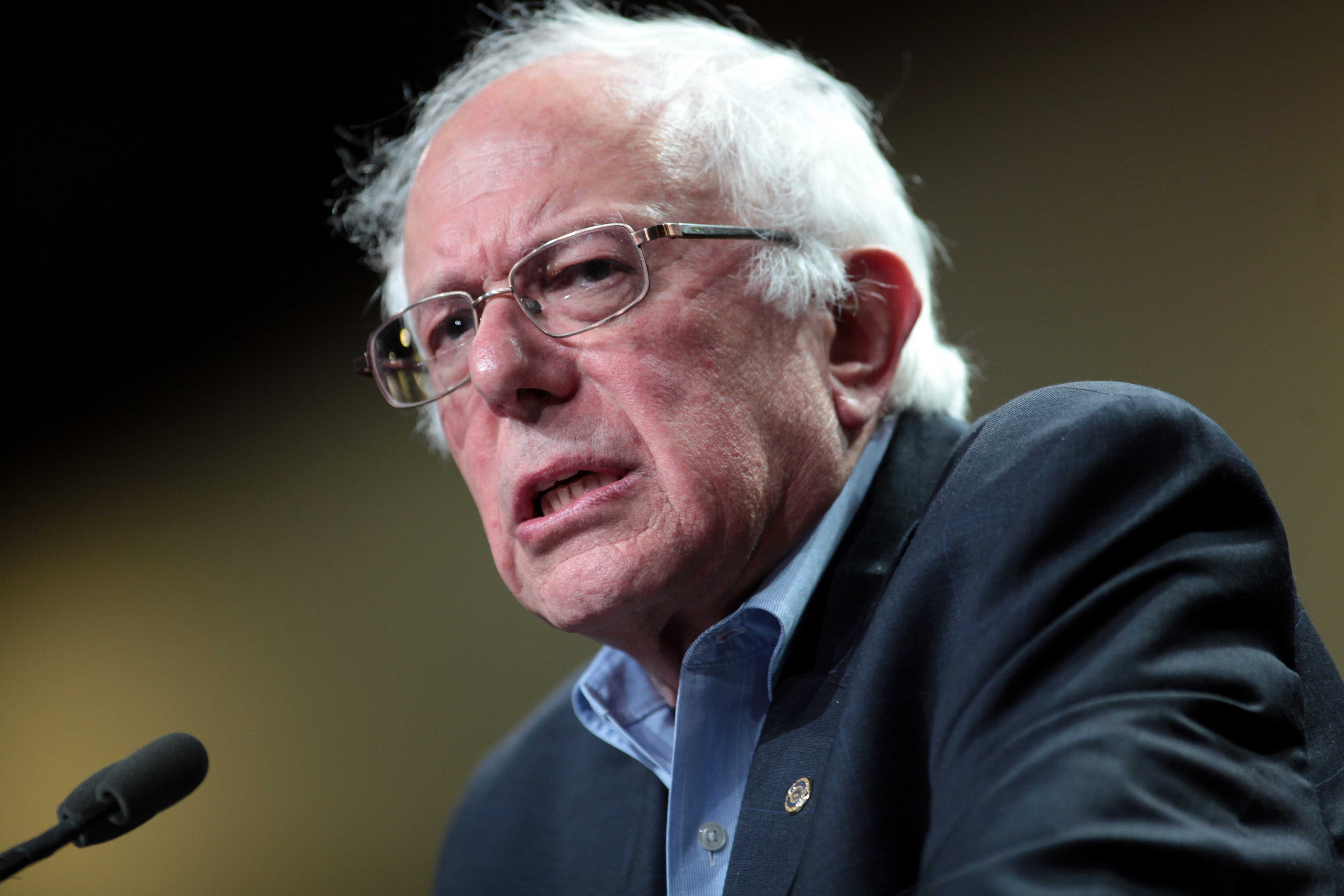 Bernie Sanders' hair through history