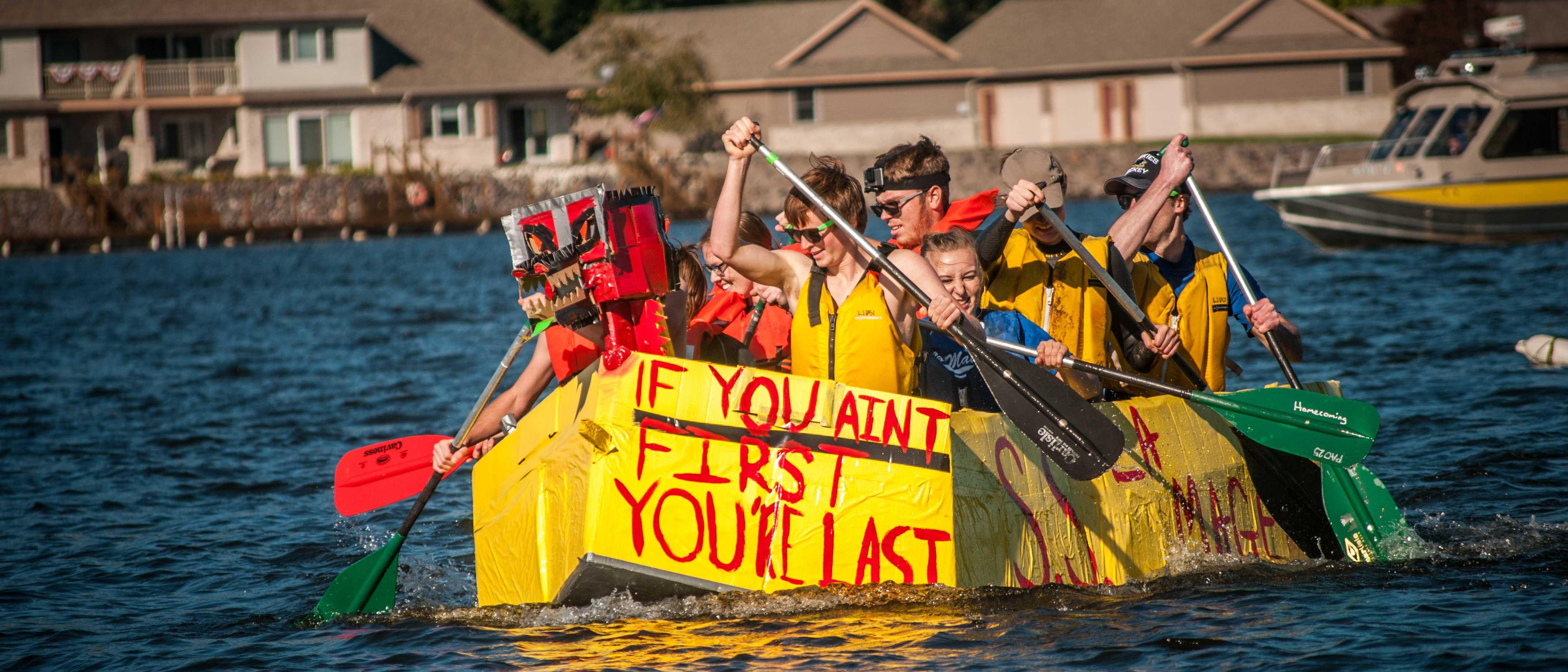 Cardboard boat race 2016 results