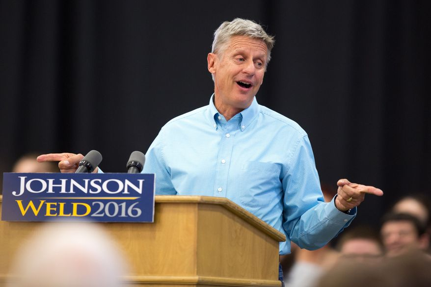 New endorsements for Gary Johnson