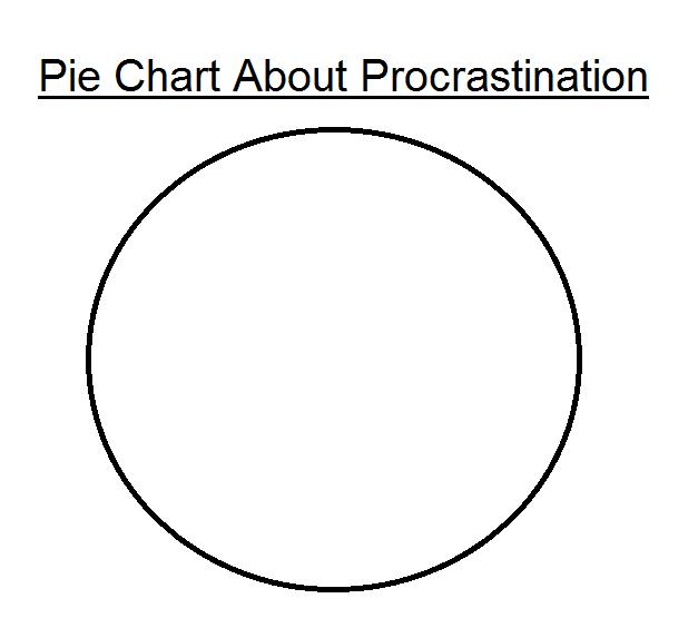 Procrastination isn't the best idea