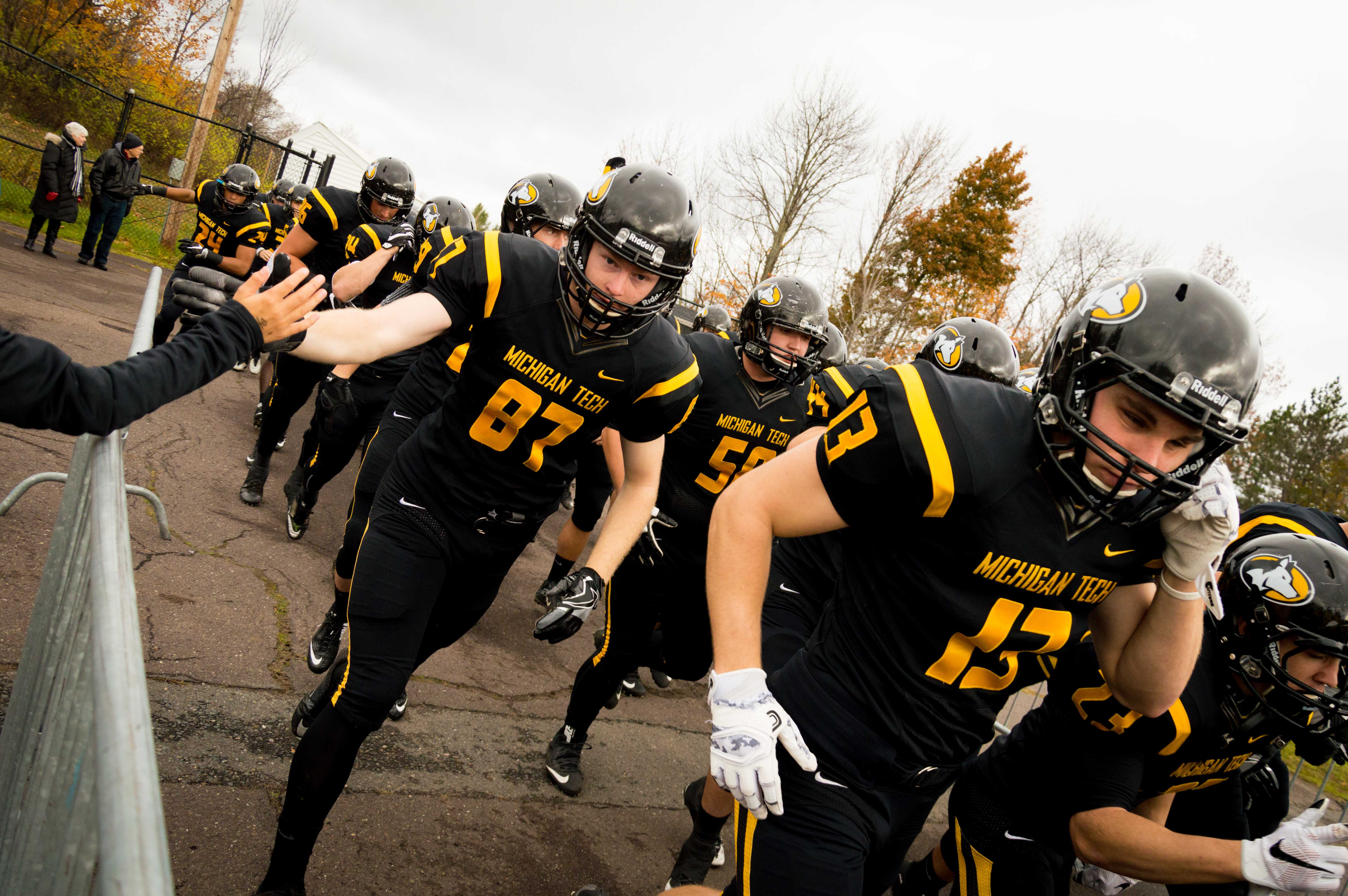 Football holds onto Miner's Cup against NMU