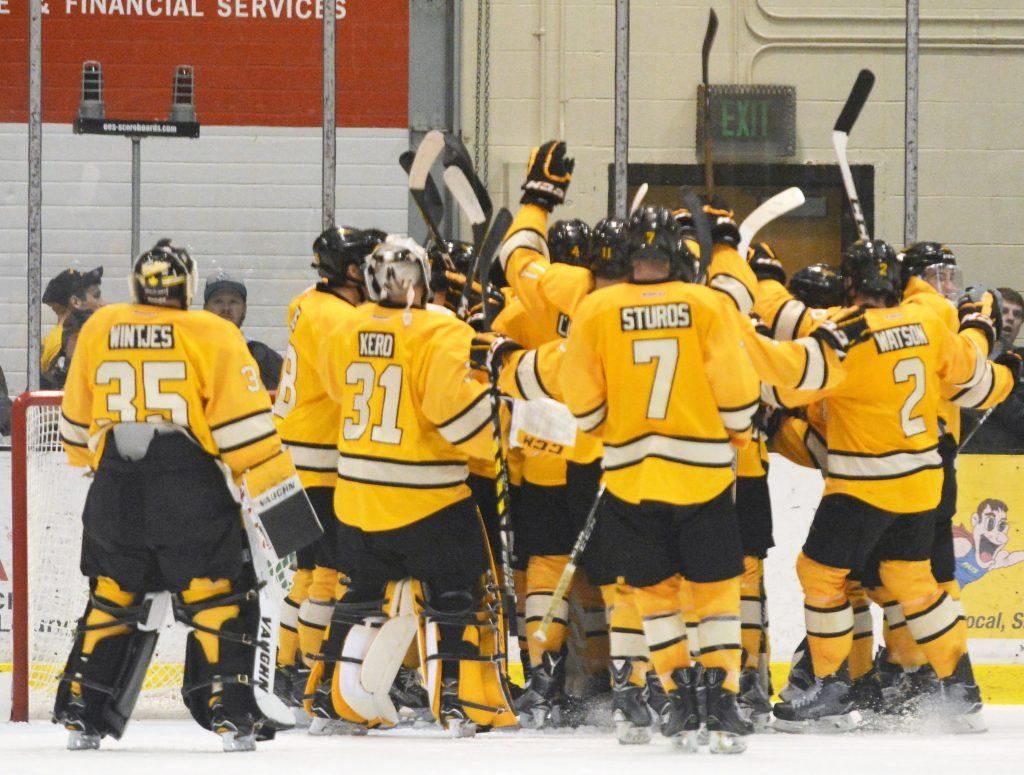 Michigan Tech vs. NMU on Friday, Oct. 28. - Photo by Horatio Babcock