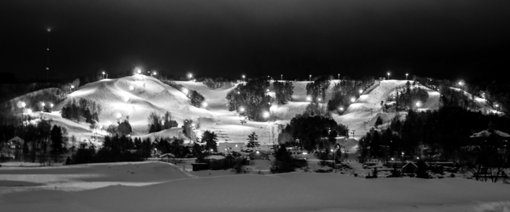 Mont Ripley Ski Hill, one of the most visible well-known Experience Tech advantages for students. - Photo courtesy of Michigan Tech