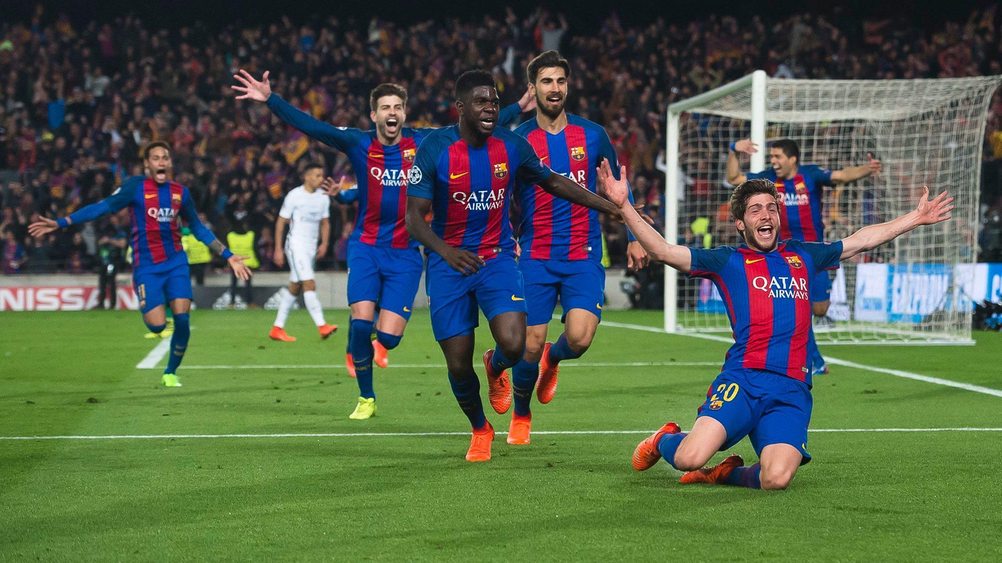 Best comeback ever for Barcelona
