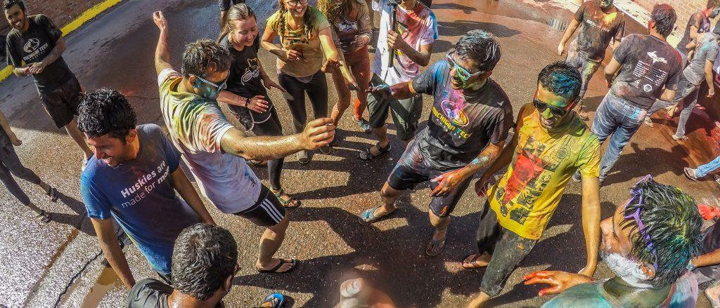 The Festival of Colors, also known as the Festival of Love, celebrates the arrival of spring and the passing of winter. Originally an ancient Hindu religious festival, Holi has been gaining popularity worldwide and is renowned for the bright and playful spirit of the festivities which accompany it. - Photo by Kiran Udayakumar