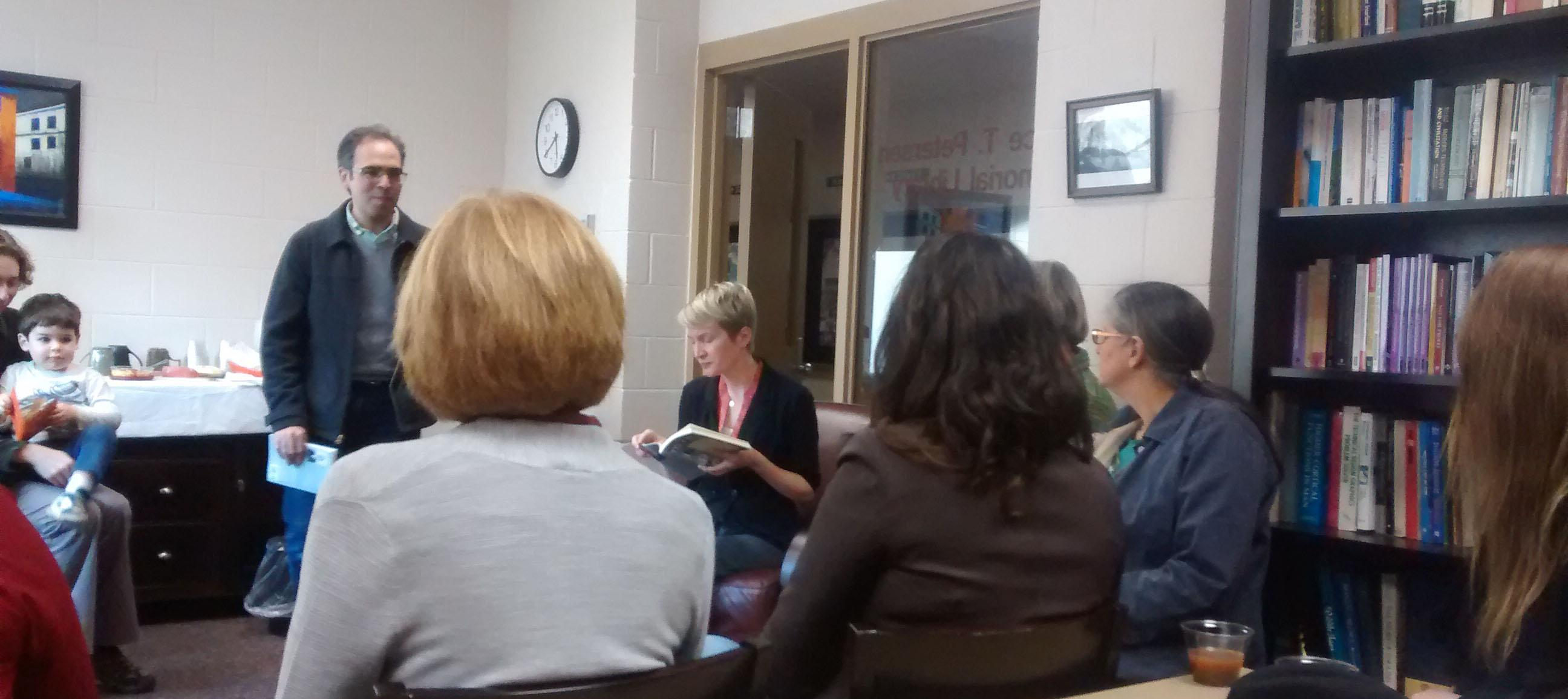 Humanities Department celebrates professor's new book