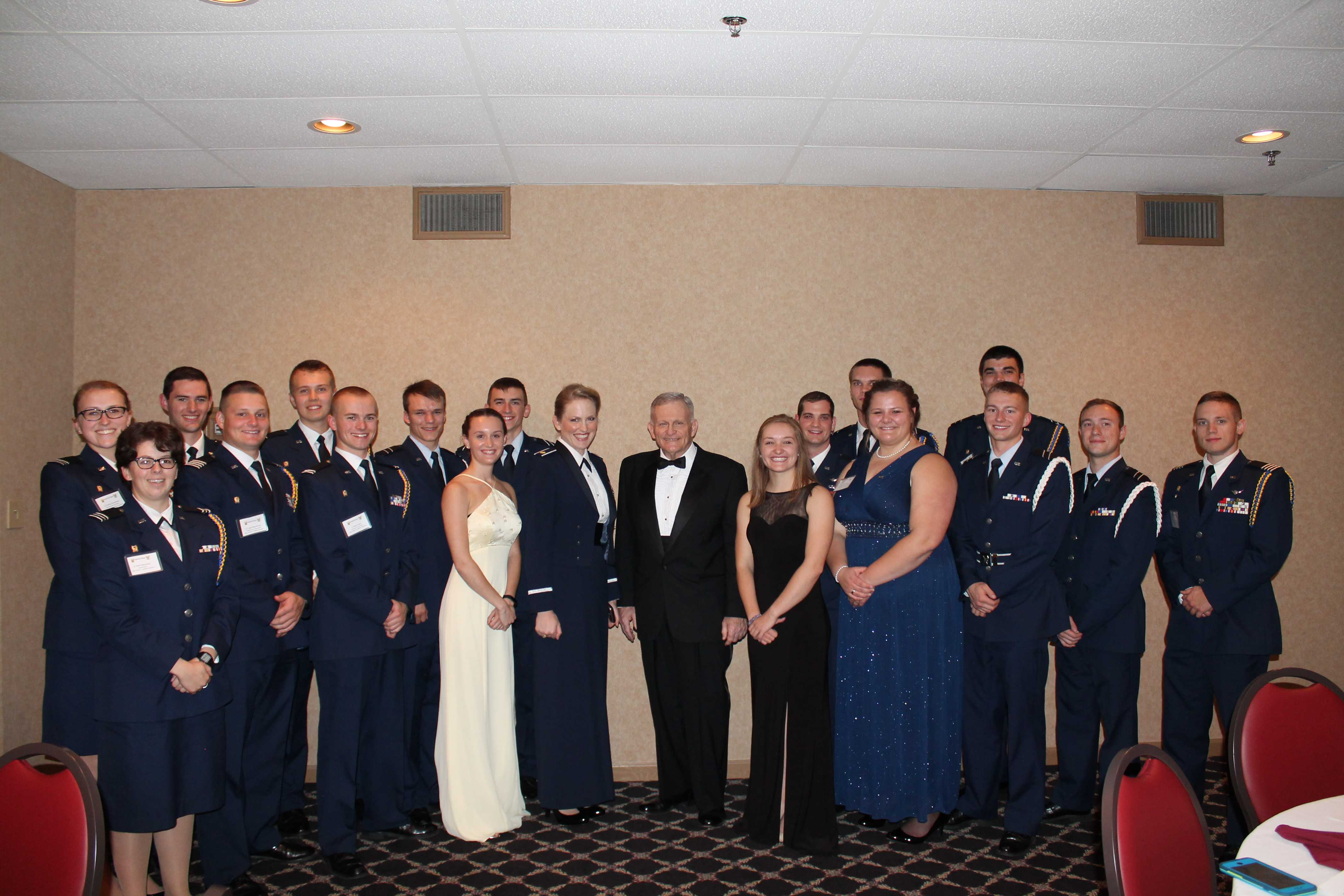 Tech ROTC hosts annual gathering on Mackinac