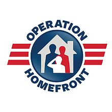 Operation Homefront helps military families in need. Donations are appreciated.  Image courtesy of Operation Homefront