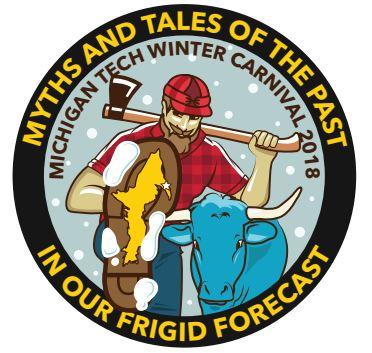 The Winter Carnival logo for 2018.
