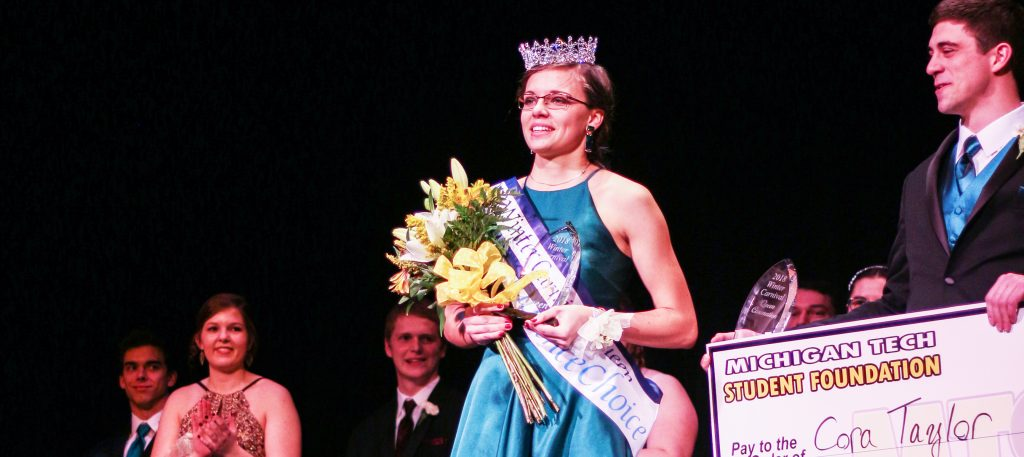 This year's Winter Carnival Queen was Cora Taylor.