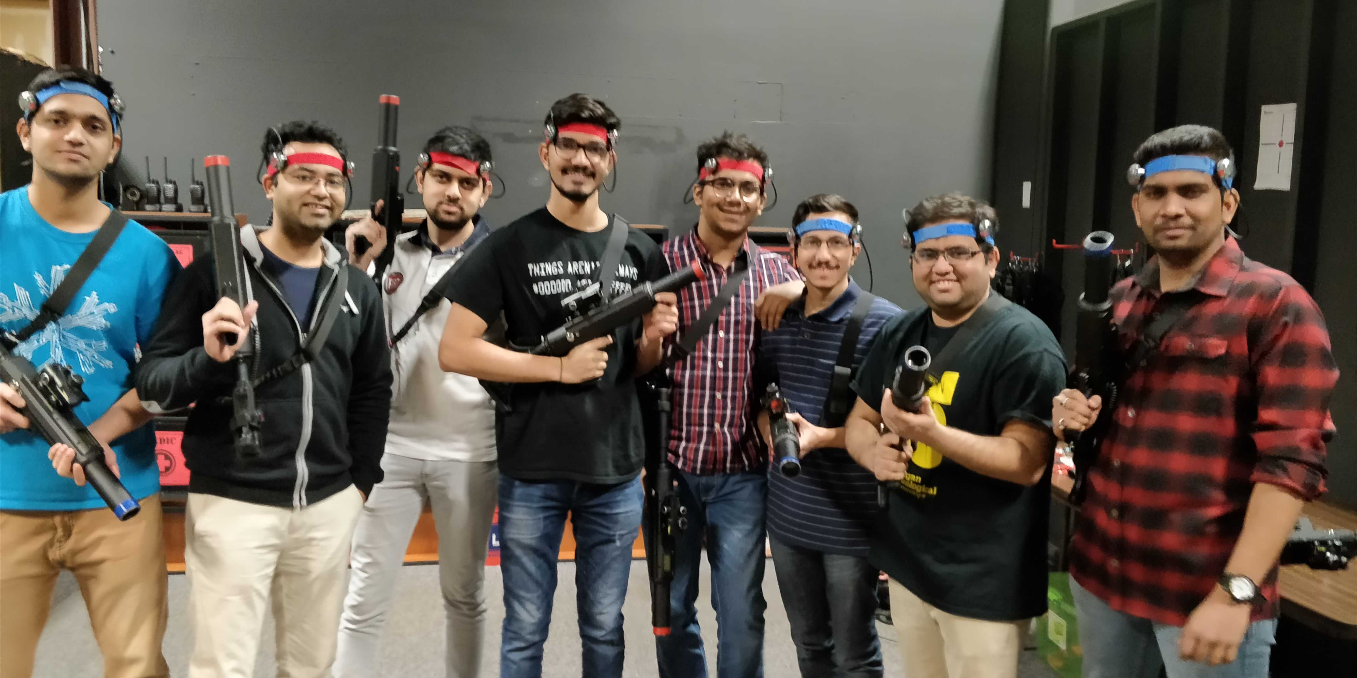 All about the fun: Respawn Laser Tag