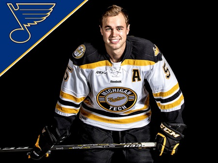 Reinke signs contract with St. Louis Blues