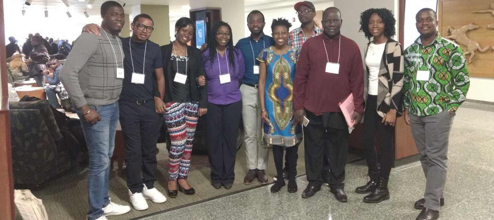 Graduate students from the Humanities present at African Linguistics conference