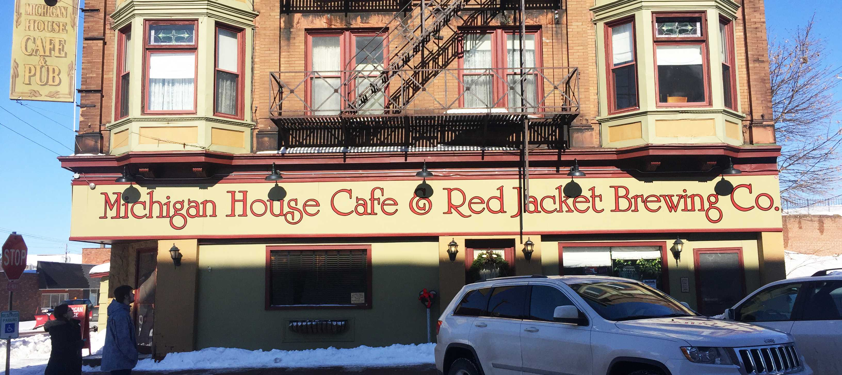 Michigan House Cafe and Red Jacket Brewing Co.