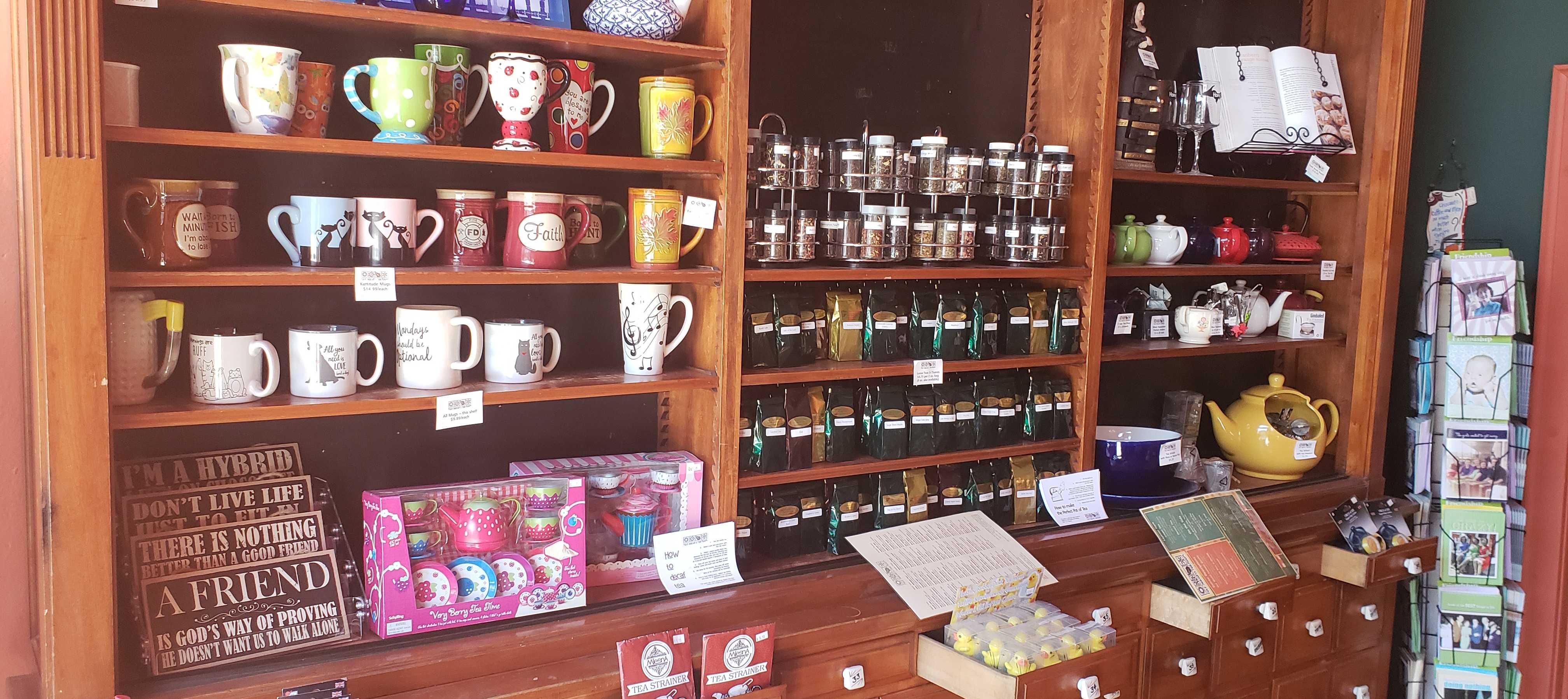 Business Spotlight:  Four Seasons Tea Room