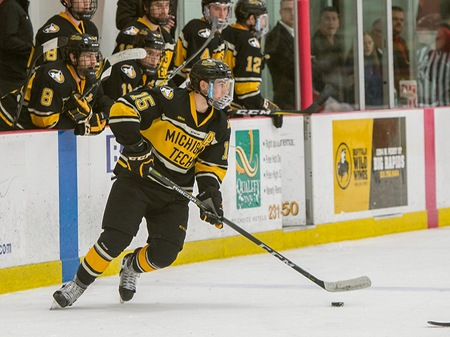 Lucchini named Preseason All-WCHA