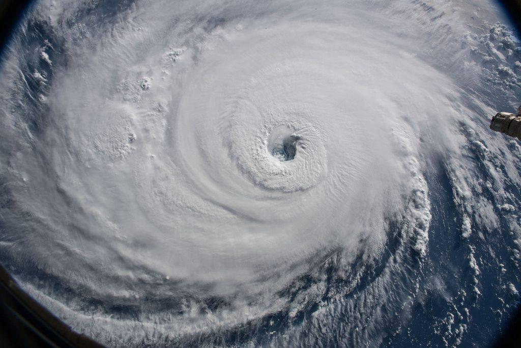 Hurricane+Florence+as+seen+from+the+International+Space+Station.+++++++++++++++