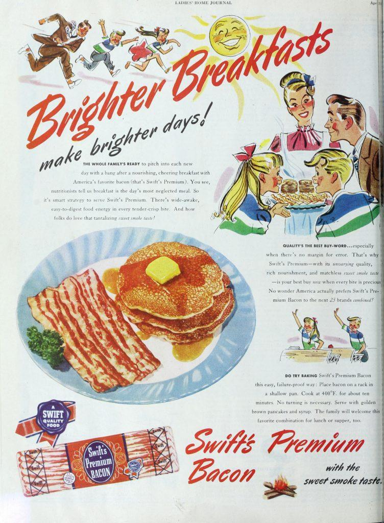 The+breakfast+we+consider+the+tradition+of+America+isn%E2%80%99t+as+traditional+as+it+seems.+We+ought+to+examine+our+long-held+traditions+to+see+why+they+exist%2C+such+as+the+emphasis+on+selling+leftover+bacon+as+an+American+staple.+++
