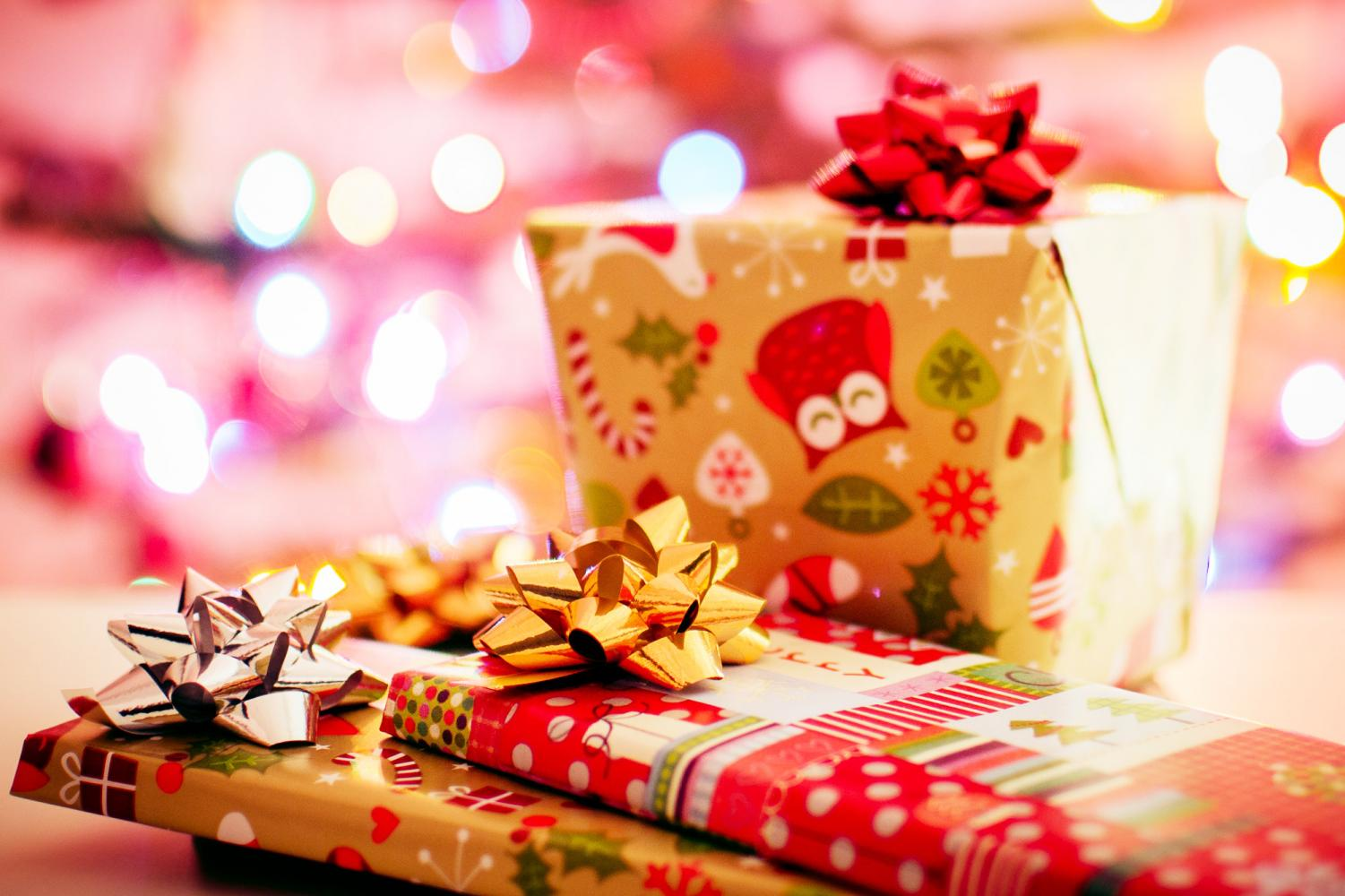 While shiny and glittery gift wrap might be a modern luxury, the act of wrapping gifts has been around since paper was invented in 105 AD. Humans love the surprise and thrill of unwrapping a gift!