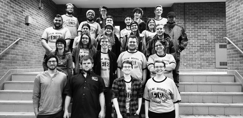 The members of Film Board, as of fall 2018.