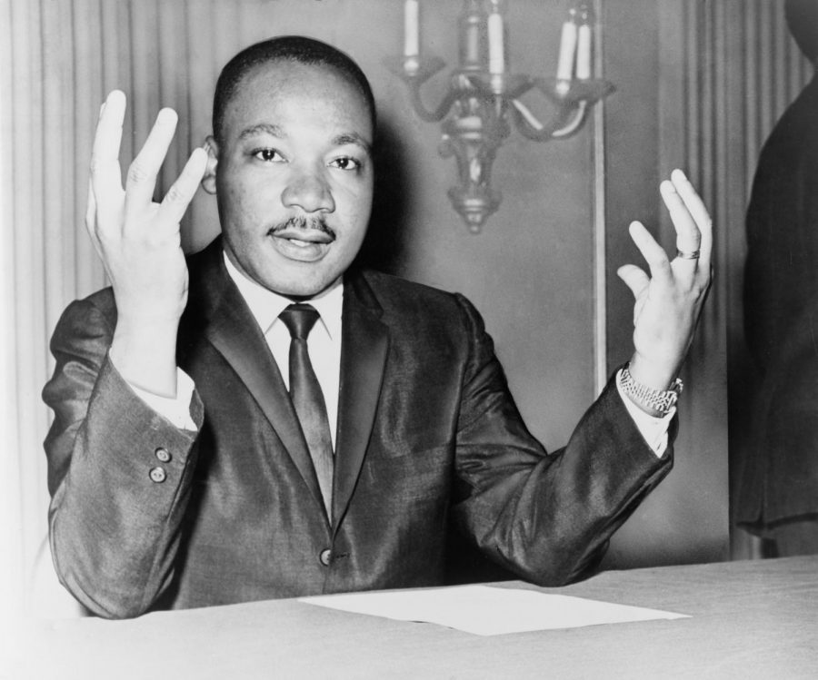 Martin Luther King, Jr. fought for civil rights and is one of very few private citizens to have a national holiday in their honor.