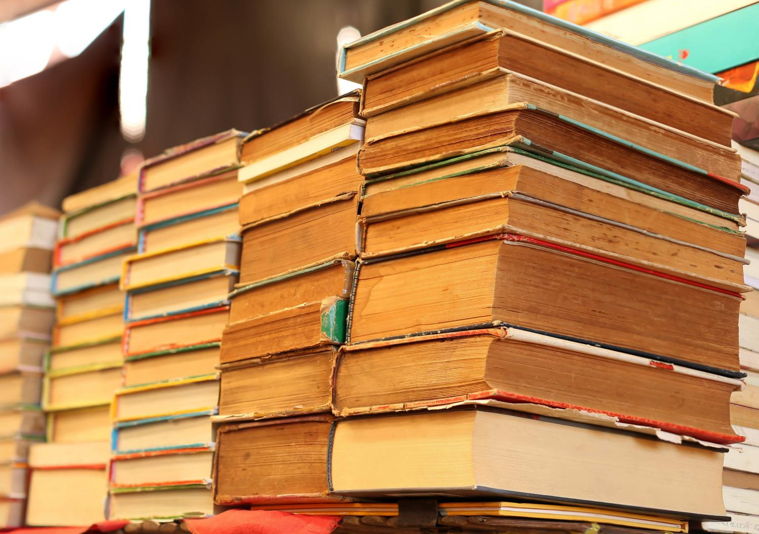 The Friends of the Library provide a variety of gently used books for students to peruse.  Image courtesy of CanStockPhoto (www.canstockphoto.com)
