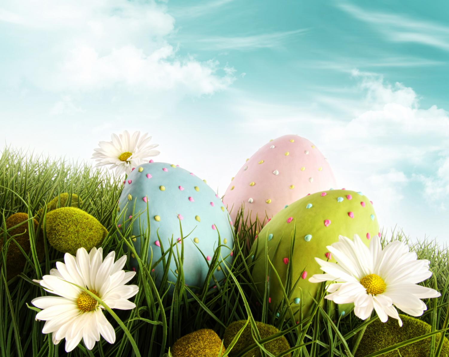 Coloring and dyeing Easter eggs dates back to ancient Egyptian days where they would dye eggs to celebrate the Spring.		           		        Image courtesy of Can Stock Photo (www.canstockphoto.com)
