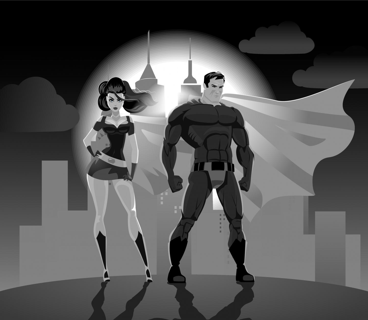 Superhero stories have enthralled people for ages. They are loved for their powerful heroes and heroines and their fascinating plots. But what happens when the traditional stereotypes for our superpowered role models are replaced with characters that represent current issues? Is that what audiences really want?			       Image courtesy of CamStockPhoto.com