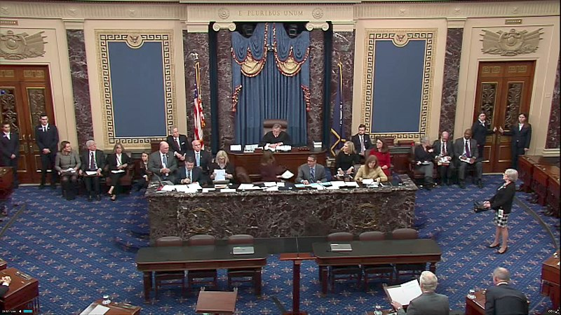 Impeachment process  begins in the Senate