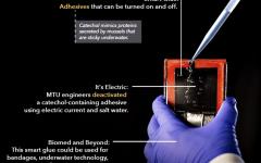 MTU engineers zap and unstick underwater smart glue