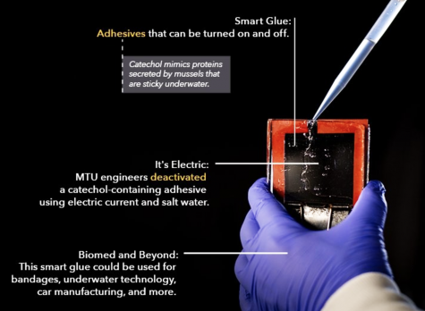 MTU engineers zap and unstick underwater smart glue