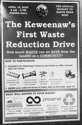 The Keweenaw's waste reduction drive