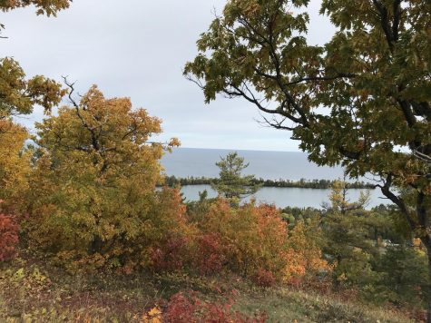 Brockway Mountain Drive, near Copper Harbor, never fails to offer some of the best views in the Keweenaw, especially during the fall season!