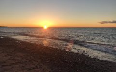 Taking in a Lake Superior sunset is always a great way to enjoy the natural wonders of the Keweenaw.