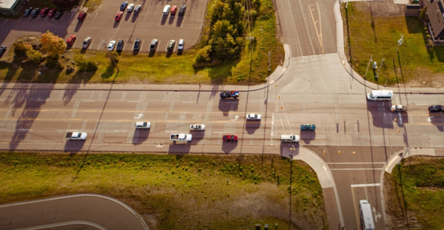 What if our cars and trucks moved cooperatively on the road in response to each vehicle's environmental sensors, reacting as a group to lessen traffic jams and protect the humans inside?