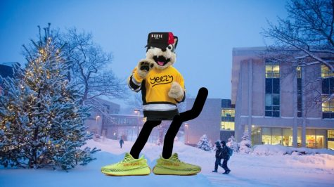Blizzard T. Husky can get down with Yeezy. Can you?
