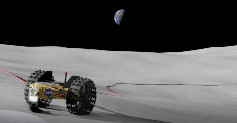 Michigan Tech's Tethered-permanently shadowed Region Explorer (T-REX) would extract and use the water ice located in and around the lunar polar regions through the use of super conducting cables to deliver large quantities of power to these extremely hard to access regions.