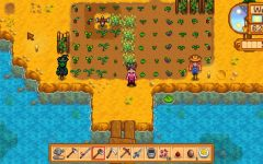 Stardew Valley offers players the chance to cultivate a farm from the ground up, including growing plants and raising animals. Here's a clip of my farm.