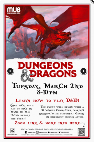 Dive into the magical world of Dungeons and Dragons with MUB Board