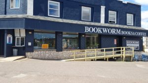 A staple of Houghton for 17 years, Bookworm Books and Coffee stood between East Montezuma Avenue and Sheldon Avenue.